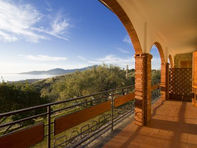 Photo for Apartment in the heart of Cilento Park overlooking the Gulf of Velia.