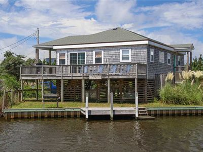 Photo for Canalfront -dock. Pets welcome. Neighborhood great for bikes/walks.  5 minutes to beach.