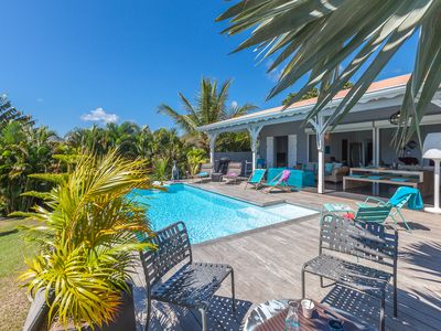 Photo for Creole and contemporary villa about 10 minutes walk from the beach