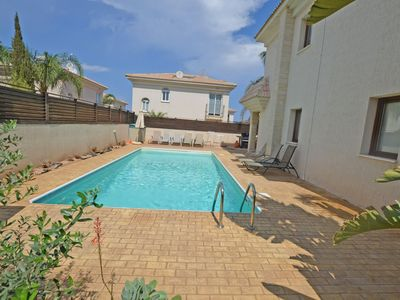 Photo for VILLA BLUE BAY - 4 BED WITH POOL KAPPARIS JUST 5 MINS WALK TO BEACH - Four Bedroom Villa, Sleeps 8
