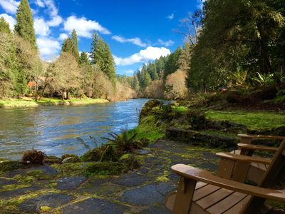 Photo for Whispering Pines, on the McKenzie River, Rafting, Hiking, Fishing, Golf