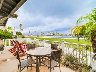 Photo for ⚓️ Relaxing Bayfront Home- Unmatched Panoramic Sunsets and Quiet Bay Beach