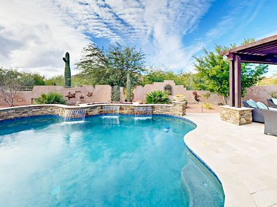 Photo for Luxury in the Desert -- Spacious Getaway in Gated Community w/ Pool