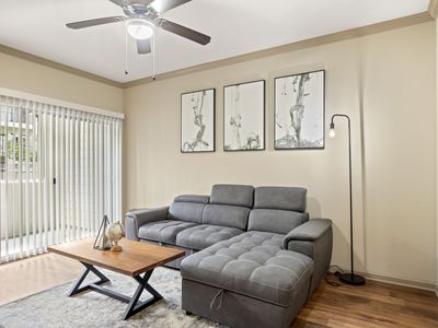 Photo for MIDTOWN-DOWNTOWN HIDEOUT | King Bed | Fast Wifi | 4K TVs