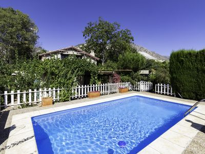 Photo for Cottage with pool and large garden