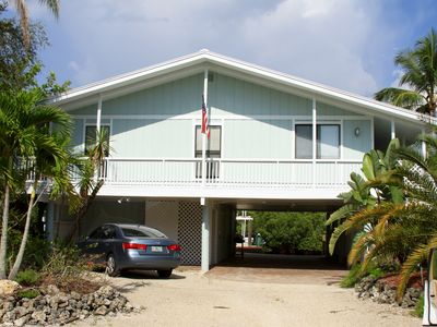 Photo for Welcome to Our Peaceful Old Florida Style Canal Front Cottage!