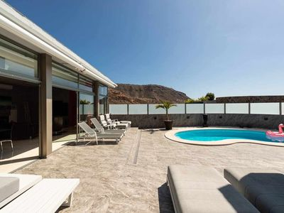 Photo for LUXURY VILLA WITH HEATED POOL AND JACUZZI