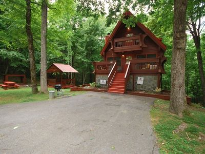 Photo for Secluded & Private Log Cabin in Gatlinburg