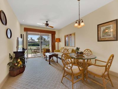 Photo for Ground Floor Ease w/Open Kitchen, Lanai, WiFi, Laundry, AC–Halii Kai Waikoloa 18C