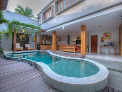 Photo for Family Villas with 5BR Closes Seminyak Square