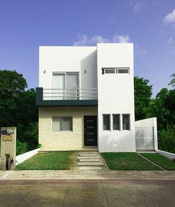 Photo for Beautiful 3 bedroom house with pool in Puerto Morelos.