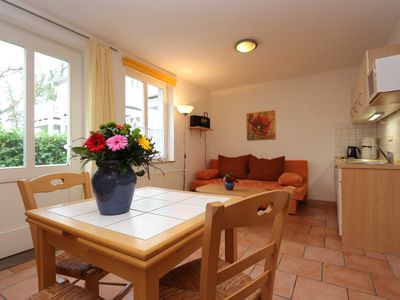 Photo for Apartment 7, ground floor, 1 room, Zinnowitz - Haus Rubert 4-star apartments, near the beach