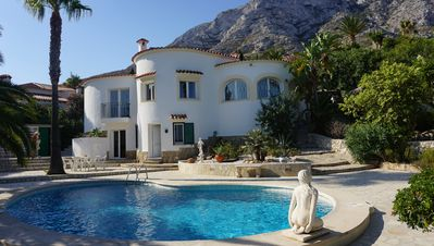 Photo for Villa with private swimming pool, sea and mountain view