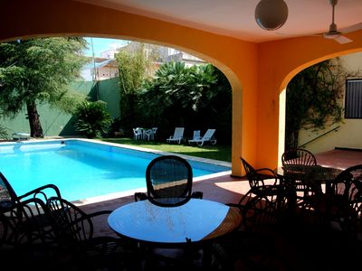 Photo for A stately oasis with a large garden 15 minutes from the beach