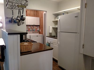 Photo for Cozy one bedroom located 5 minutes to town. Covered parking.  Private entrance.