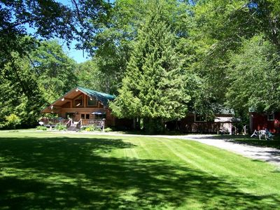 The Homestead Log House ..primary residence check in office