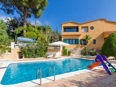 Photo for Club Villamar - This charming villa is ideal for larger families with a private swimming pool nea...