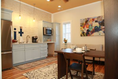 The Kitchenette, Den, Dining areas