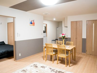 Photo for 201 Biei Furano Good location cozy apt w / parking and wifi