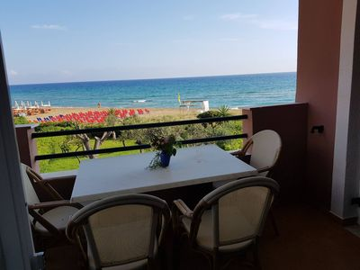 Photo for Glyfada Beachfront Apartment A3g 58a