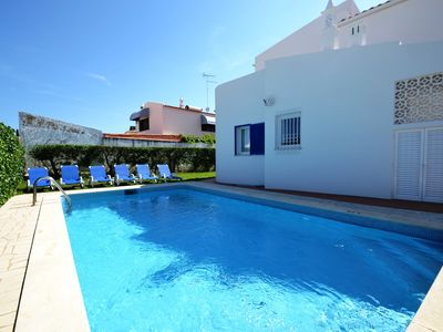 Photo for Algarve 3 bed room Villa Private Pool Free WIFI in Albufeira Oura