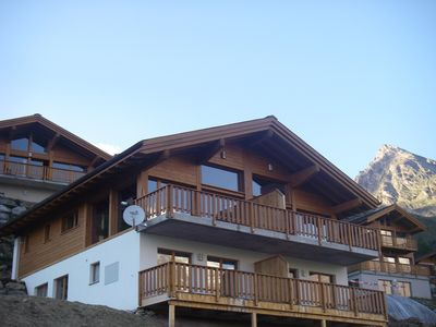 Photo for 4BR Chalet Vacation Rental in Wiler, Lötschental, Vallese