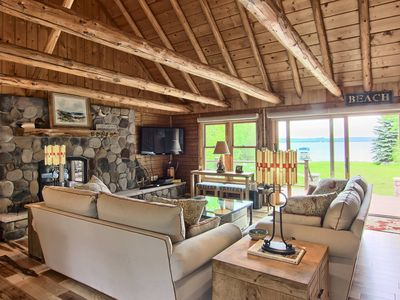 Photo for Gorgeous 4BR Waterfront Home on gorgeous Lake Charlevoix!
