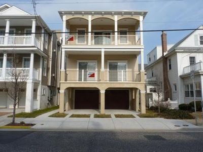 Photo for Ocean View! 1Block from Beach and Boardwalk!  Watch Ferris Wheel from porch