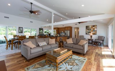 Photo for Remodeled Home w/Golf Course Views, A/C, & Near the Beach. He'eia Beach Bungalow
