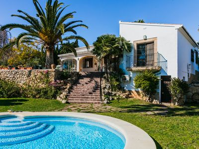 Photo for Villa Siete Olivos in Javea, sleeps 10, with wifi, pool and air conditioning