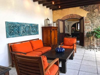 Photo for Multi-bedroom home with spacious patio, jacuzzi, & grill in the heart of Antigua