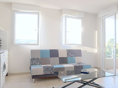 Photo for BEAUTIFUL, QUIET AND BRIGHT APARTMENT WITH BALCONY- MONTPELLIER - 4 PEOPLE