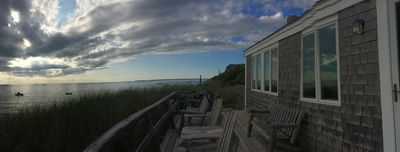 Panoramic View of CC Bay from front deck