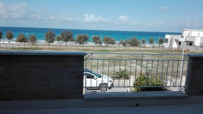 Photo for A few steps from the sea and 18 km from Palermo villa on two floors