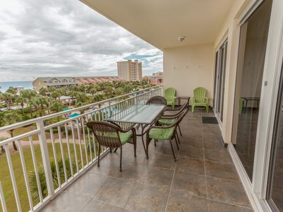 Photo for Condo w/ views of the Gulf of Mexico - balcony, beach access & pool