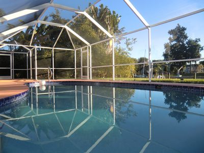Photo for Villa Sunrise Canal Home With Pool - Cape Coral