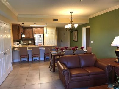 """Photo for """"Home Away from Home"""" 5 Star, 5 Bedroom condo at Westgate Resort"""