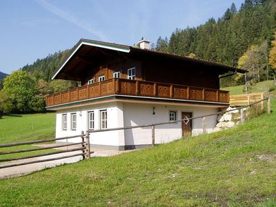 Photo for Nice, comfortable chalet with sauna in Radstadt, 7 km from Radstadt. Vlaj in Pichl is a lake and the