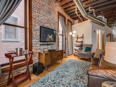 Photo for Rare Find Luxury1820's Loft~Steps to Honky Tonks!