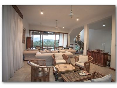Photo for Luxary villa with live-in cook,  staff, visiting yoga and massage therapists