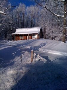 Photo for Log Cabin Overlooking Holimont Ski Area