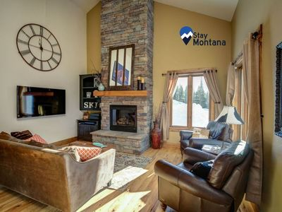 Photo for Stay Montana 2 Day Cancel - Alpenglow Escape with Private Hot Tub and Amazing Views!