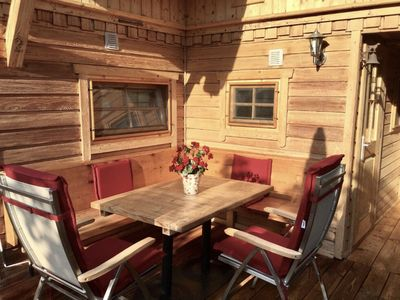 Photo for Chalet / ski lodge in the TOP ski area directly at the 5 * campsite Aufenfeld