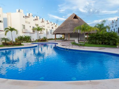 Photo for Villa Ana Lucia with Pool, SportClub, Sauna; mins from Beach, Parks & Tulum