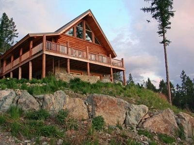 Photo for Glacier Park Vacation- Cabin on Mountain - Views & Tranquility