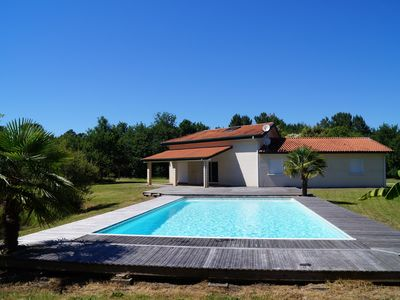 Photo for Villa Gabrielle for 12 pers with heated swimming pool of 6M x 12M treated with salt