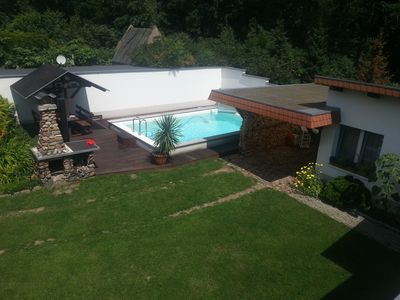 Photo for Bungalow comfortably furnished with pool and barbecue