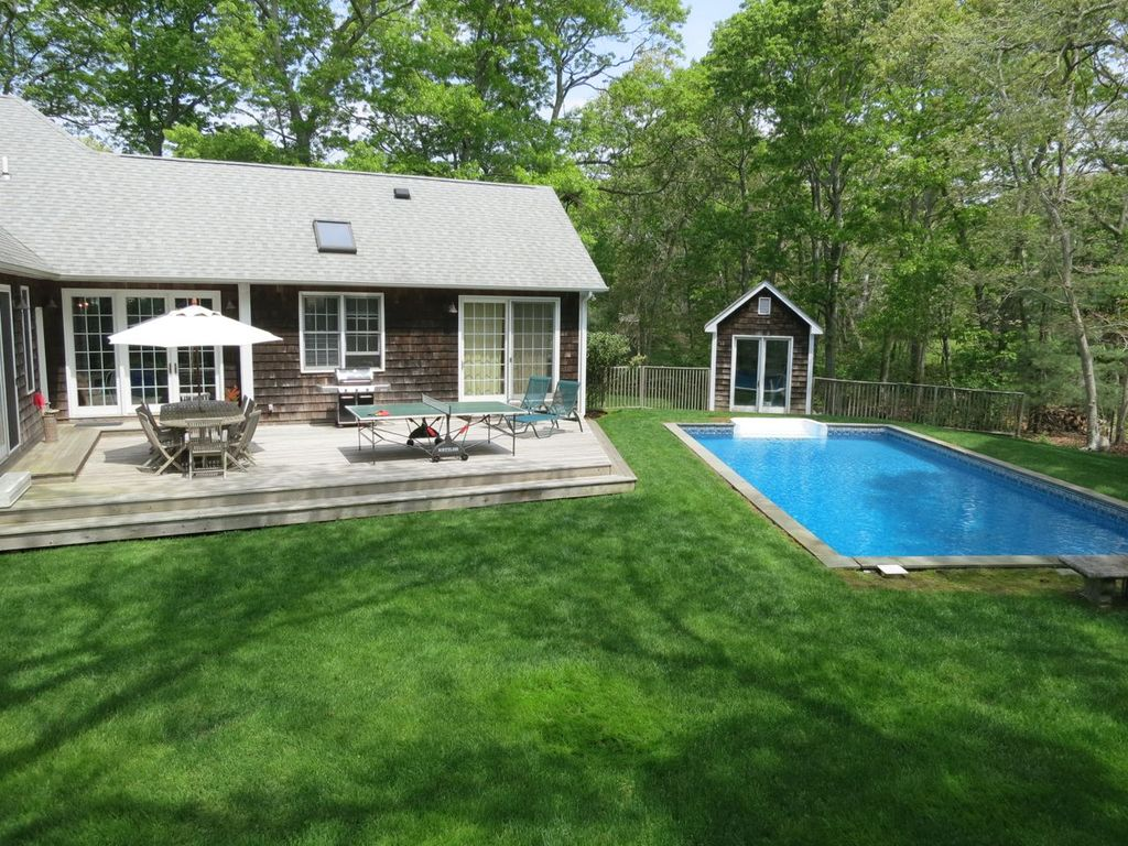 beach nearby and pool in your backyard in this family friendly