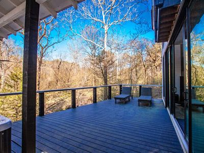 Photo for Vail's Bluff modern luxury with unobstructed wooded views