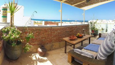 Photo for Beautiful Apartment in Historical Centre Close To Beach with Rooftop Terrace, Balcony & Wi-Fi